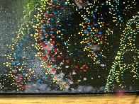 Fog Laced Hills 1995 54x34 Huge Original Painting by Eyvind Earle - 5