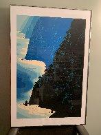 Blue Big Sur Coast Limited Edition Print by Eyvind Earle - 1