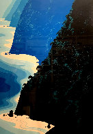Blue Big Sur Coast Limited Edition Print by Eyvind Earle - 0
