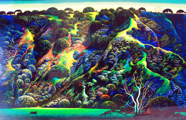 Gardener Ranch Limited Edition Print by Eyvind Earle