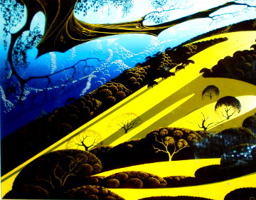 Gaviota Pass 1983 Limited Edition Print - Eyvind Earle