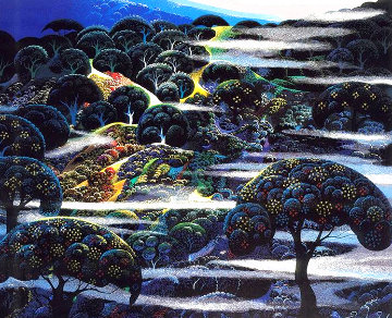 Garden of Eden 1986 Limited Edition Print - Eyvind Earle