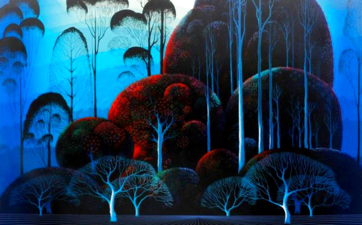 Enchanted Forest Limited Edition Print by Eyvind Earle