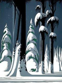 Yosemite 1994 50x41 Huge Limited Edition Print - Eyvind Earle