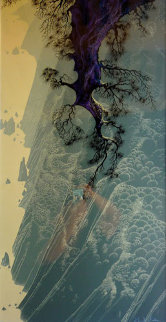 Mountain Rise 1980 Limited Edition Print by Eyvind Earle