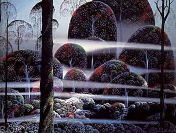 Beyond Paradise  Limited Edition Print by Eyvind Earle
