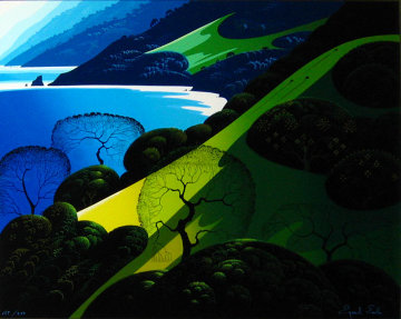 Above The Sea 1987 Limited Edition Print by Eyvind Earle