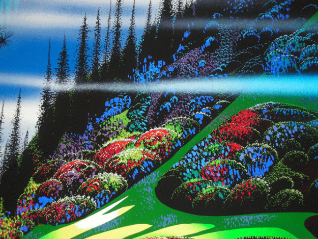 Pasture Through the Fog AP Limited Edition Print by Eyvind Earle