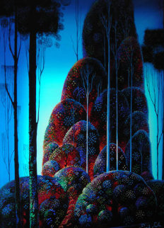 Tall Trees AP 1987 Limited Edition Print by Eyvind Earle