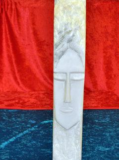 Face Unique  Marble Sculpture 21 in Sculpture - Eyvind Earle