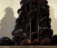 Autumn 1981 Limited Edition Print by Eyvind Earle - 0