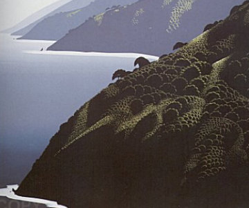 California Suite of 4 Serigraphs Limited Edition Print by Eyvind Earle