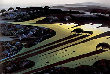Silent Meadow 1990 Limited Edition Print - Eyvind Earle