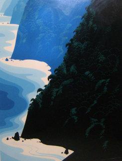 Blue Big Sur 1976 Limited Edition Print - Eyvind Earle