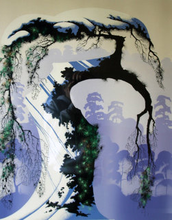 Norway Pine 1989 Limited Edition Print - Eyvind Earle
