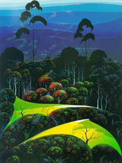 Inland From the Sea 1991 Limited Edition Print by Eyvind Earle