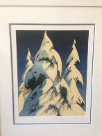 Snow Trees PP 1986 Limited Edition Print by Eyvind Earle - 1