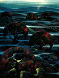 Garden of Dreams 1990 Limited Edition Print by Eyvind Earle