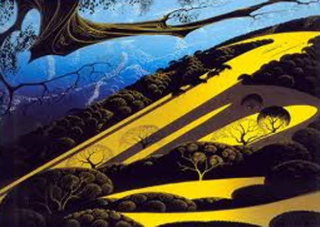 Gaviota Pass 1982 Limited Edition Print by Eyvind Earle