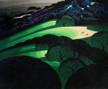 Spring 1981 Limited Edition Print by Eyvind Earle