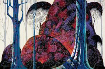 Jewel Forest 1988 Limited Edition Print by Eyvind Earle