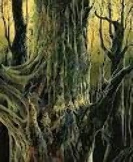 Ancient Tree 1992 Limited Edition Print by Eyvind Earle