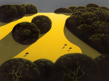 Alamo Pintado 1975 Limited Edition Print by Eyvind Earle