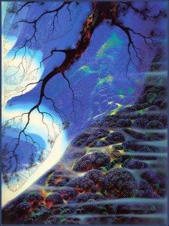 Mystical Big Sur 1998  Limited Edition Print by Eyvind Earle