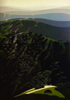Hidden Valley 1975 Limited Edition Print by Eyvind Earle