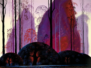 Mauve, Red, and Purple 1998 Limited Edition Print - Eyvind Earle