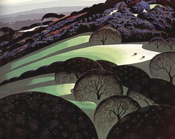 Spring 1970 Limited Edition Print - Eyvind Earle