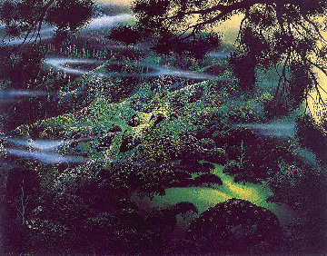 Symphonic Fantasy 1990 Limited Edition Print by Eyvind Earle