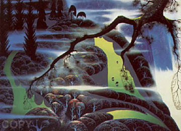 Green Pastures 1992 Limited Edition Print by Eyvind Earle