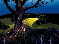 Before the Sun Goes Down 1996 Limited Edition Print by Eyvind Earle - 0