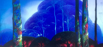 Purple Sunset AP Limited Edition Print - Eyvind Earle