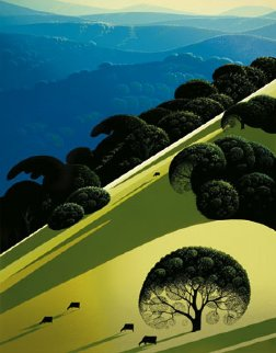 Summer 1981 Limited Edition Print by Eyvind Earle