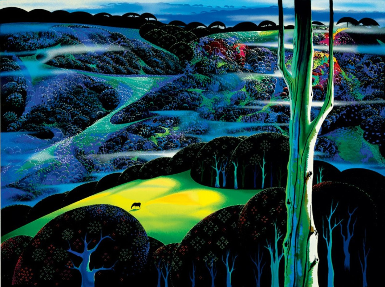 A Touch of Magic HC 1997 Limited Edition Print by Eyvind Earle