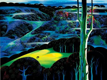 A Touch of Magic HC 1997 Limited Edition Print - Eyvind Earle