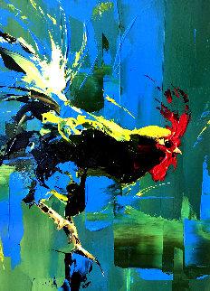 Balancing Act 2004 34x28 Original Painting - Thomas Easley