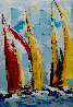 Tailors of the Wind 24 x 17 Original Painting by Thomas Easley - 0
