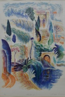 Alhambra 1 AP 1980 Limited Edition Print - Peter Eastham