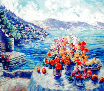 Cote D'Azure, France PP 1993 Limited Edition Print - Peter Eastham
