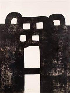 Gurutze Gorria I 1984 Limited Edition Print - Eduardo Chillida
