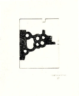 Literature Or Life: French Version 1997 Limited Edition Print by Eduardo Chillida
