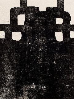 Gurutze Gorria III 1984 Limited Edition Print - Eduardo Chillida