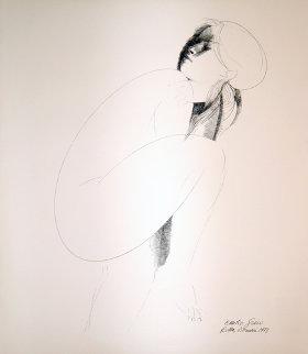 Ellipse Limited Edition Print by Emilio Greco
