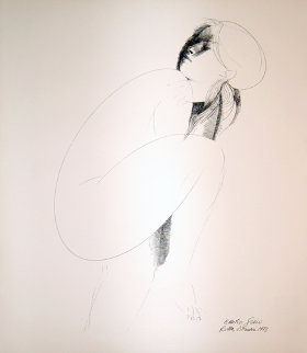 Ellipse Limited Edition Print by Emilio Greco