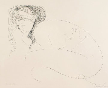 Ellisse N.2  AP 1970 Limited Edition Print by Emilio Greco