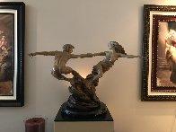 Whirlwind Bronze Sculpture, 2004 59 in  Sculpture by Martin Eichinger - 2