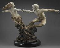 Whirlwind Bronze Sculpture, 2004 59 in  Sculpture by Martin Eichinger - 1